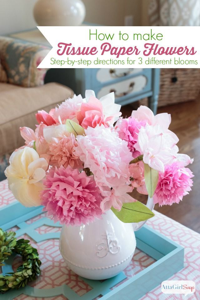 Diy Crafts Learn How To Make Tissue Paper Flowers With This Easy