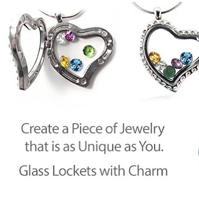 Pretty #mothersday gift idea! Fill the locket necklace with family birthstones f...