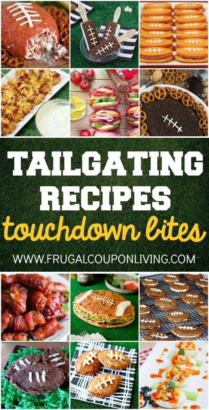 The most tasty Tailgating Recipes and Football Party Food Ideas for your stadium...