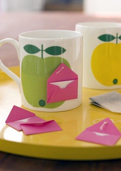 Tea with a tiny note. | The 42 Definitively Cutest DIY Projects Of All Time