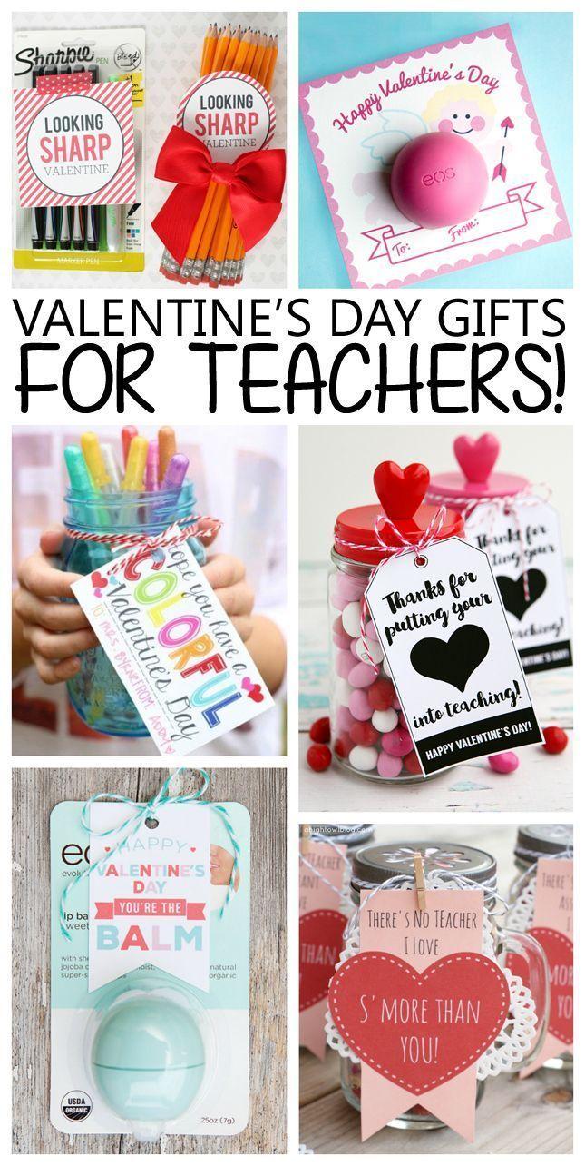 Valentine's Day gift ideas for Teachers!   Teacher Valentines