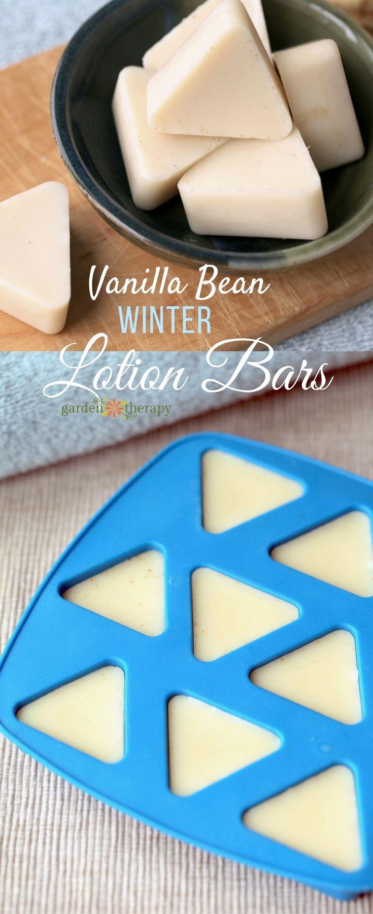 Vanilla bean WINTER lotion bar for dry skin #winterskin #Winter #lotionbar #home...