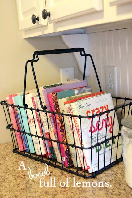 15 Clever Ways to Get Rid of #Kitchen Counter Clutter #homedecor #diyhomedecor