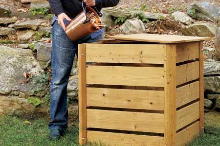 Affordable And Easy To Make #DIY Compost Bins #diycrafts #homedecor