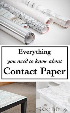 Decorating with all types of contact paper | marble, granite, stainless steel, w...