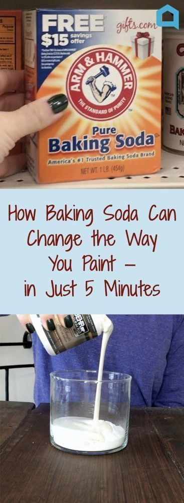 How Baking Soda Can Change the Way You Paint—in Just 5 Minutes. #painting #fur...