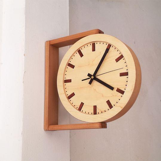 Diy Furniture Side View Wooden Clock Diyall Net Home