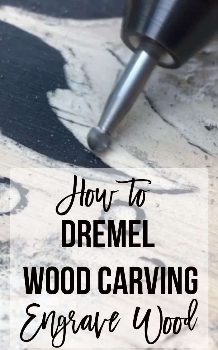 This is gorgeous! Dremel wood carving is a great way to make engraved wood art. ...