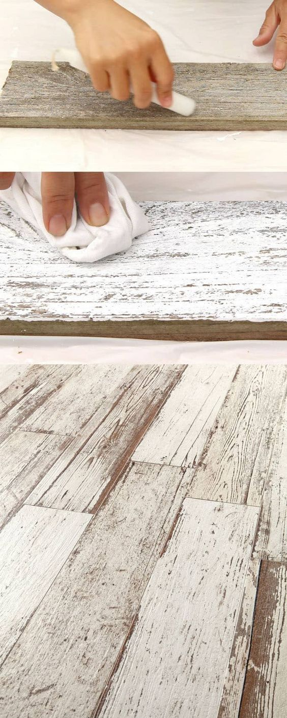 Ultimate guide + video tutorials on how to whitewash wood & create beautiful whi...