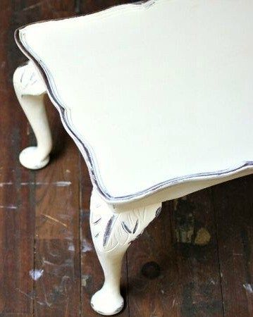 Take a look at this tutorial for the easiest way to distress furniture! How to D...