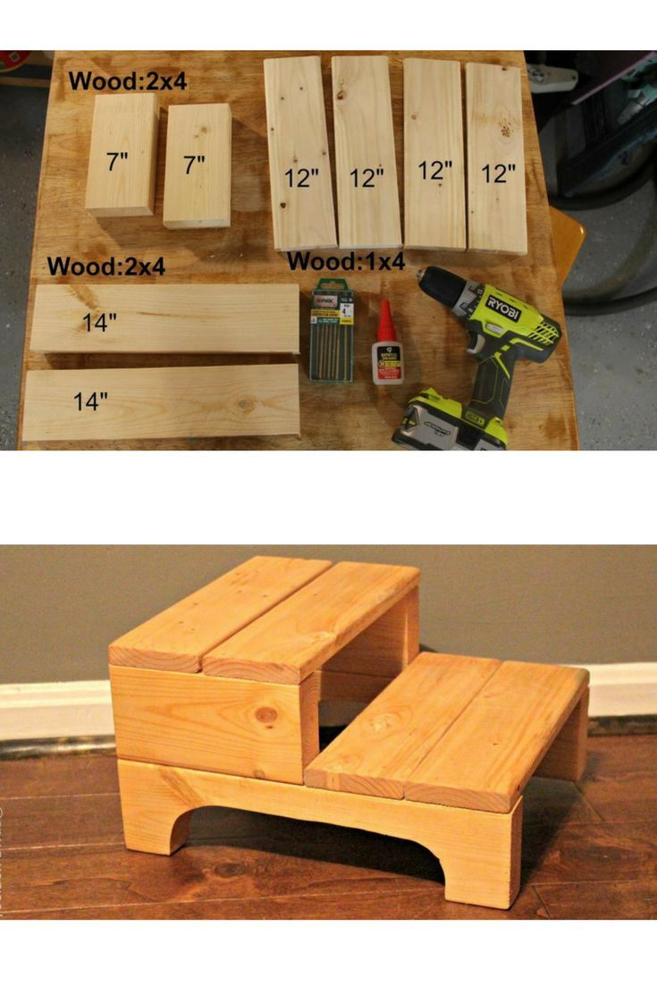 Diy Step Stool Perfect Kids Size Give Your Kid A Boost At