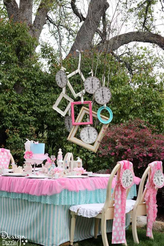 Diy Crafts Vintage Glam Alice In Wonderland Party With Diy Tips Tutorials And Repurposing Diyall Net Home Of Diy Craft Ideas Inspiration Diy Projects Craft Ideas