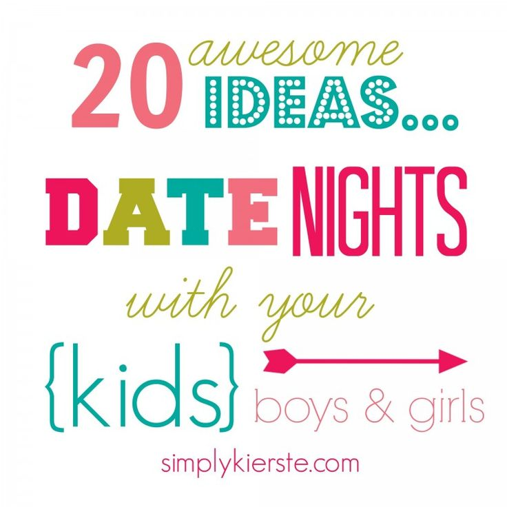 Diy Crafts 20 Awesome Ideas For Date Nights With Kids