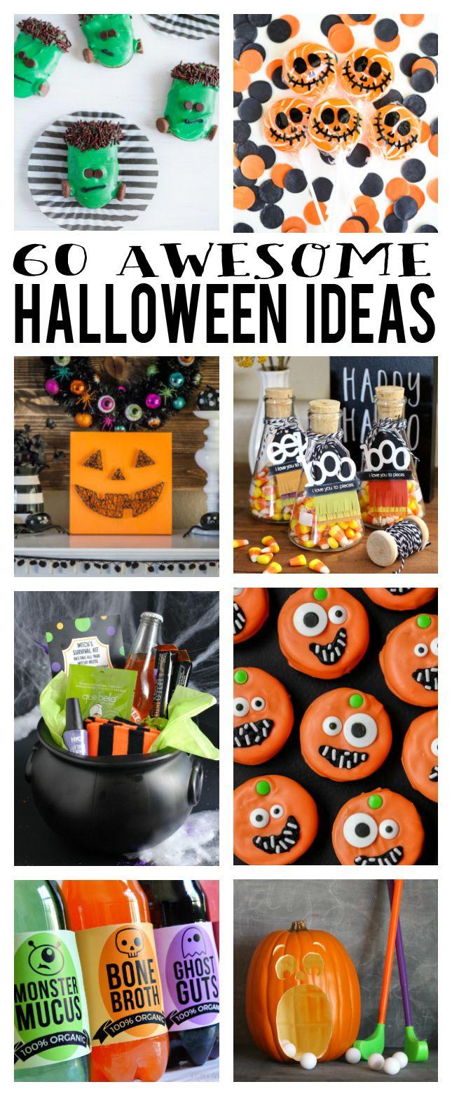 60 Fantastic Halloween Ideas You'll Love! #halloween #halloweentreats #halloween...