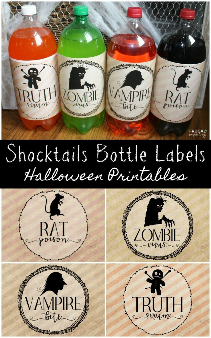 Diy Crafts Adorable And Spooky Halloween 2 Liter Shocktails Bottle