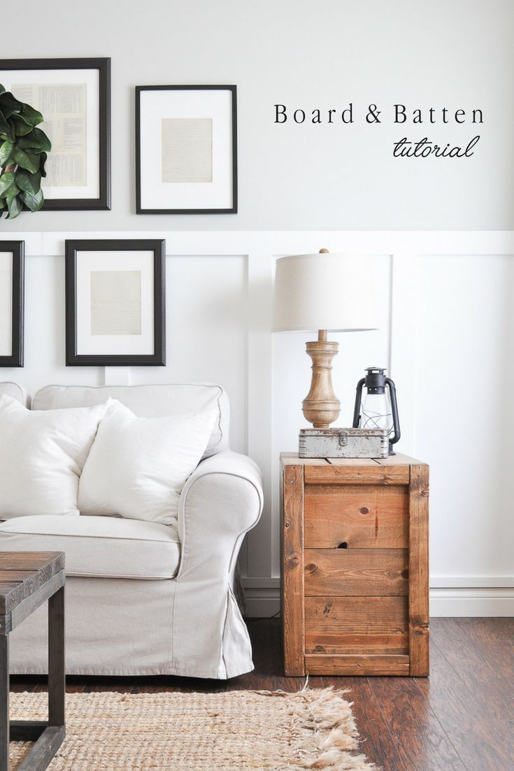 DIY Crafts : Board and Batten Tutorial - DIYall.net | Home of DIY ...
