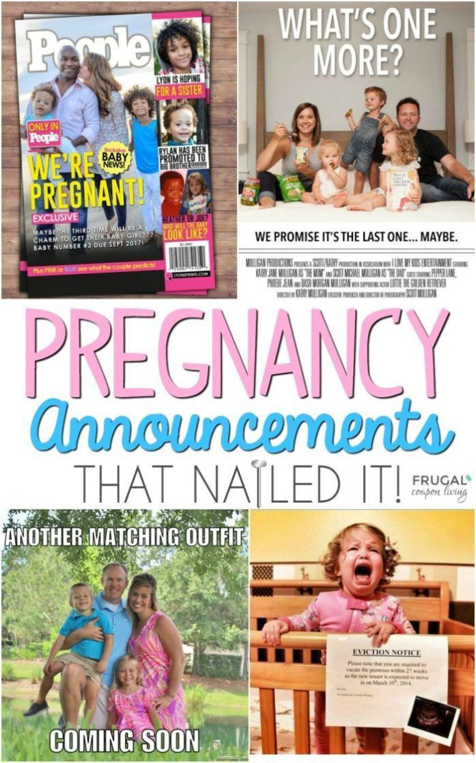 Diy Crafts Cute Pregnancy Announcement Ideas That Nail It And