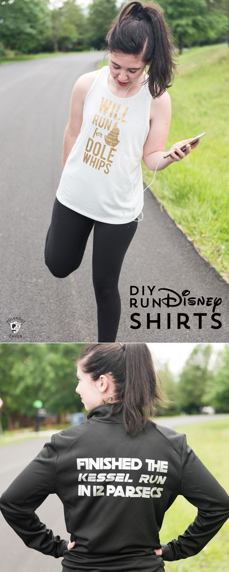 DIY Run Disney Costumes and shirt ideas, includes free cricut SVG files to make ...