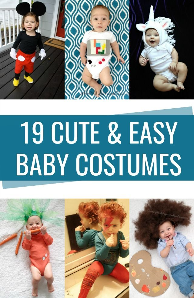 Diy Crafts Easy Cute Baby Costumes Made With A Onesie Diyall