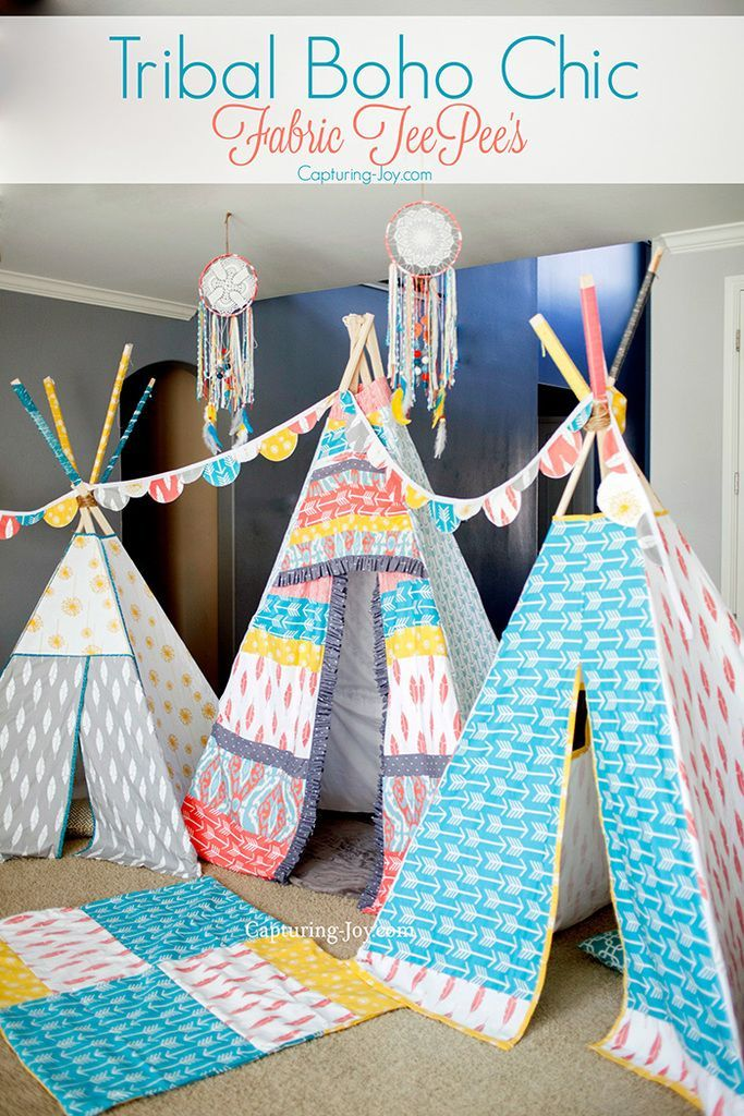 Fabric teepee's, an amazing cake, and other gorgeous elements make this Tribal B...