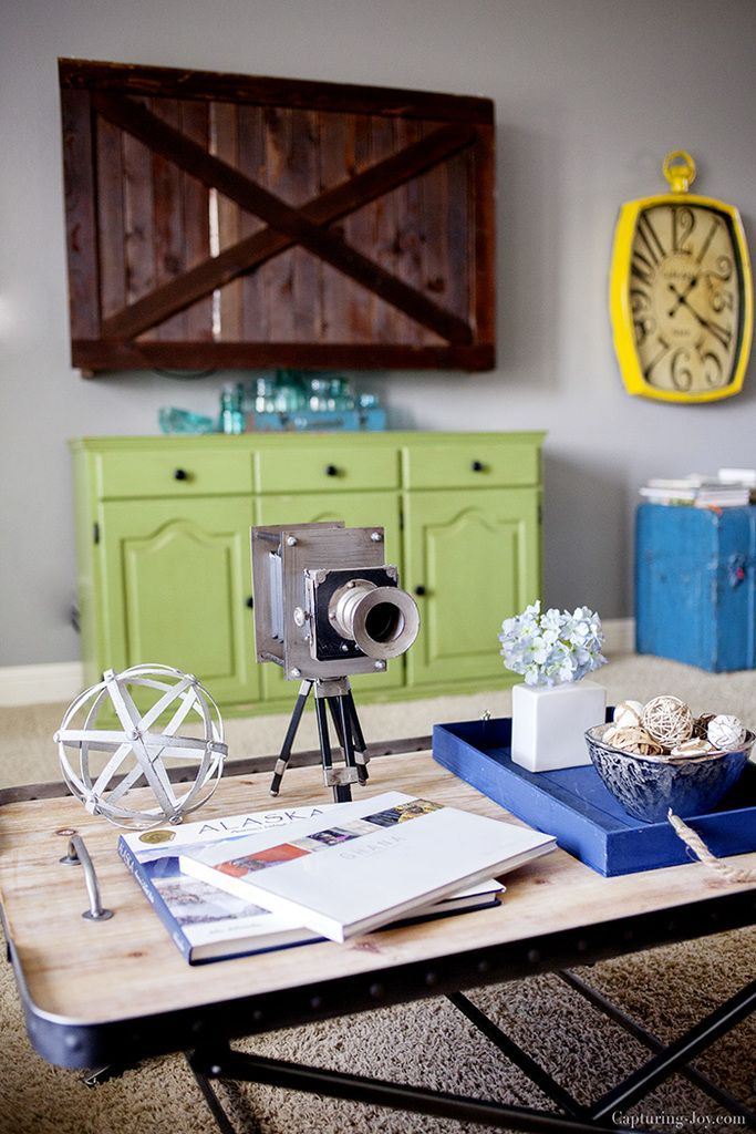 Hey friends! I spruced up my family room with a new little table, and I wanted t...