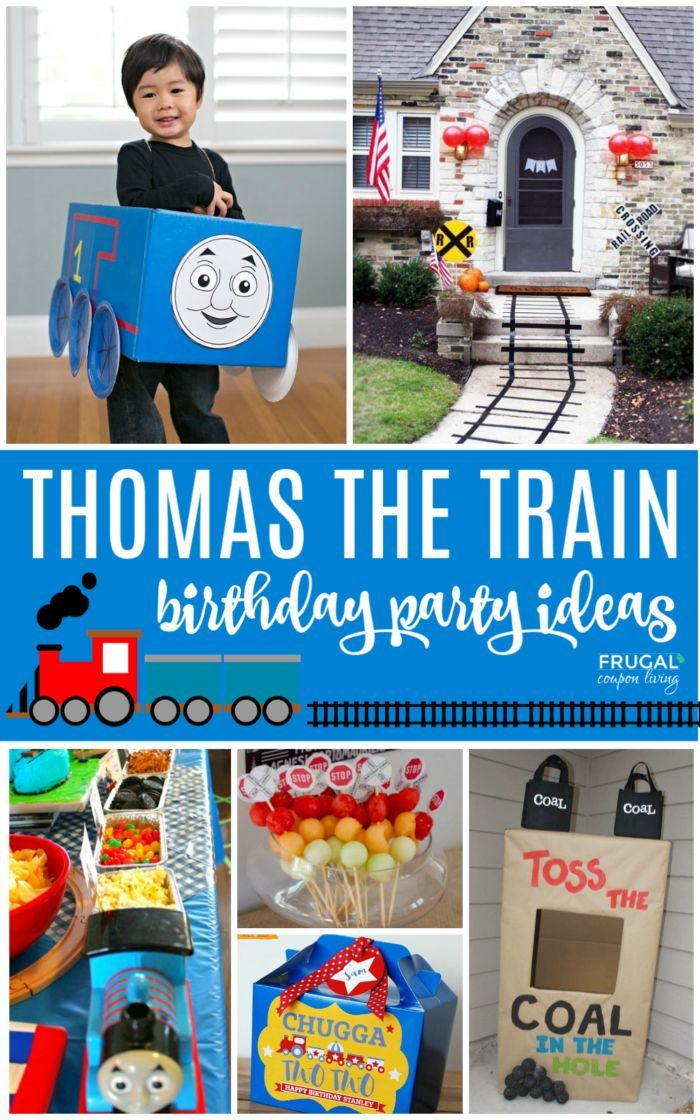 Hop on the party train and create the perfect Thomas the Train Party Ideas for y...