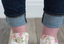 4a27680fd326 DIY Crafts   How to customize your converse with fabric – a DIY way to decorate  the tongue of…