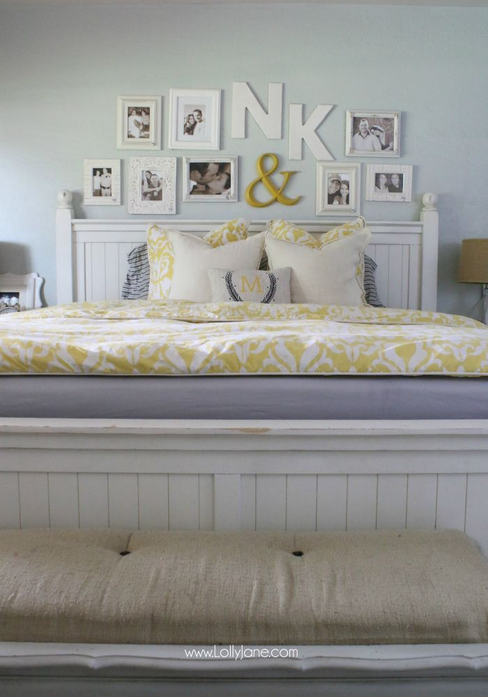 IntelliBED mattress review | Check out this cute master bedroom complete with an...