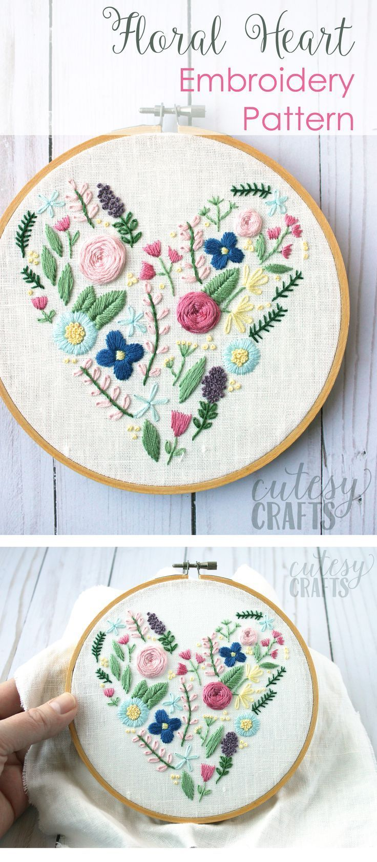 DIY Crafts : Learn hand embroidery stitches with this beautiful free