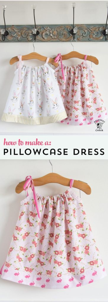 Diy Crafts Learn How To Sew A Pillow Case Dress With This