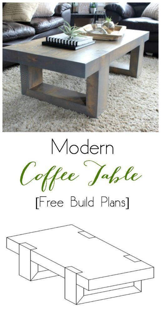 Love this chic coffee table! The design is so beautiful! Love the grey stain too...