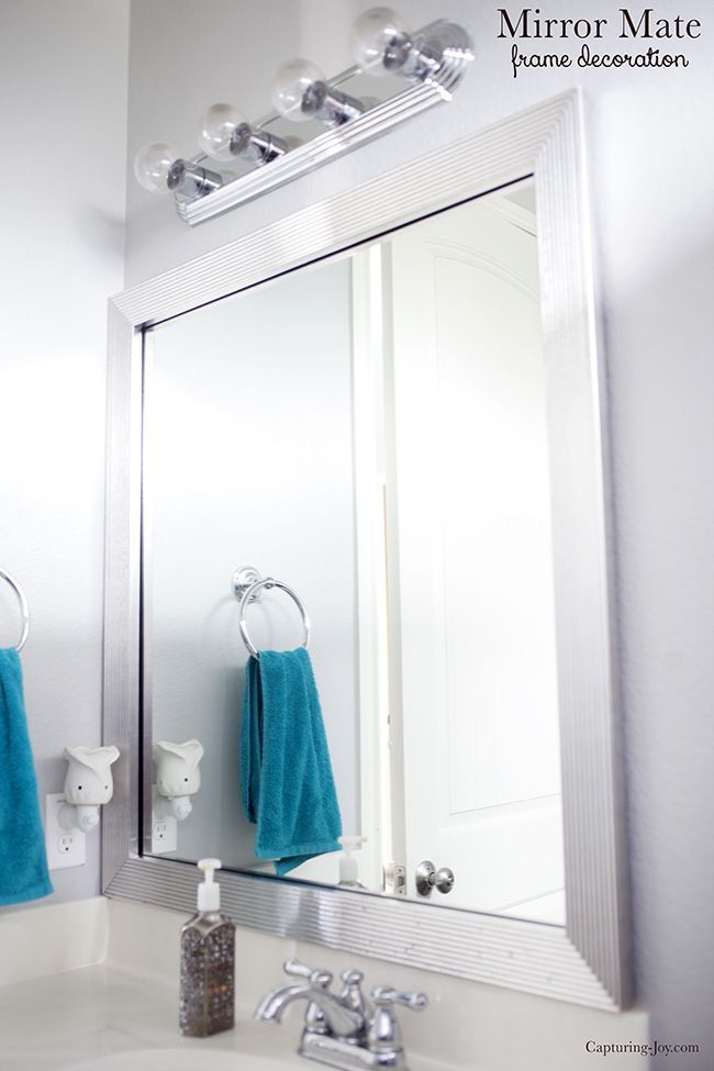 Mirror Mate Bathroom Makeover in Progress. Make this simple change and make your...