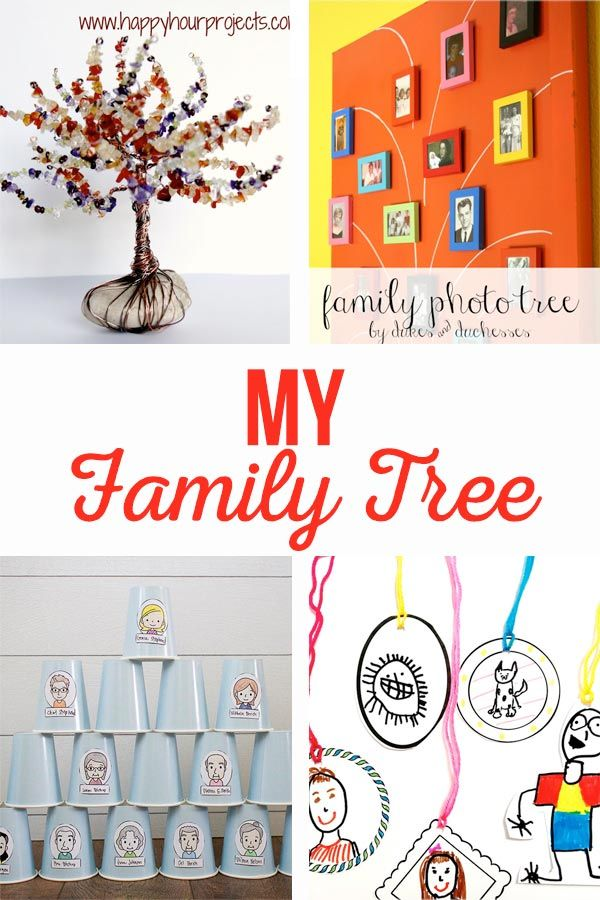 Diy Crafts My Family Tree Crafts Printable Crafts And Activities