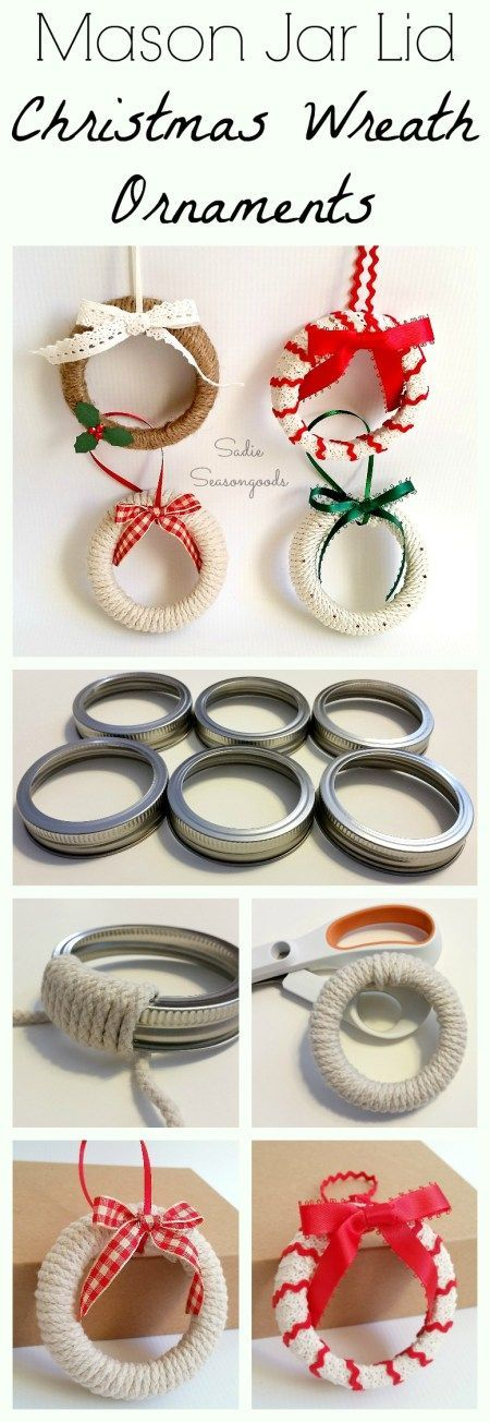 Need an easy DIY Christmas craft project for kids this year? Repurpose some maso...