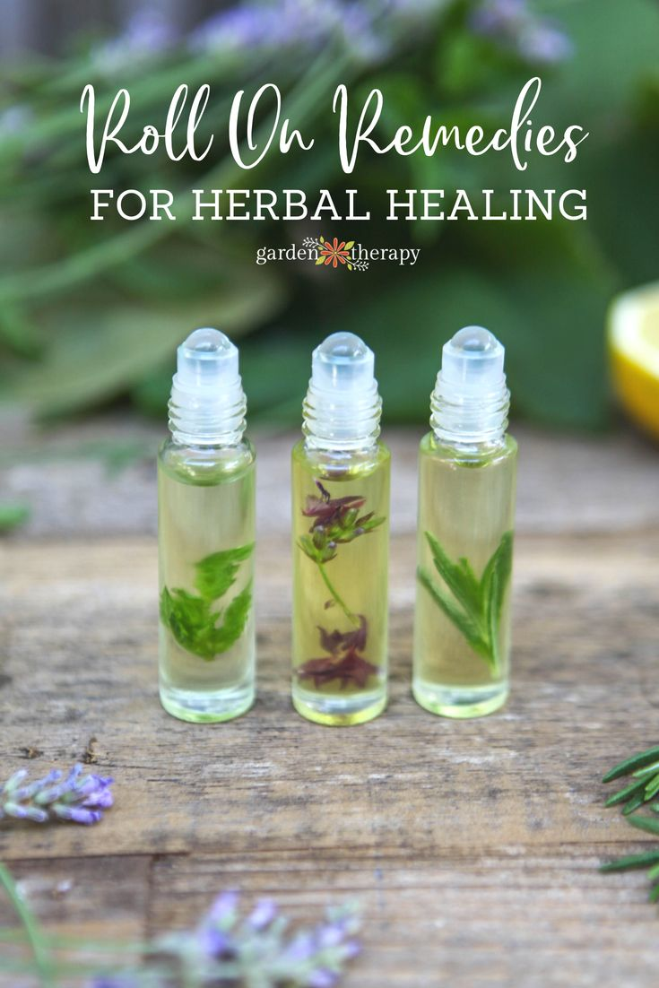 Roll On Remedies for Herbal Healing - Make roll-on remedies as a quick and natur...