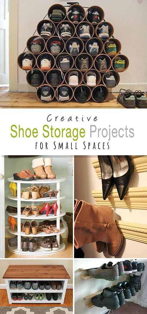 Diy Crafts Shoe Storage Projects For Small Spaces Come Check