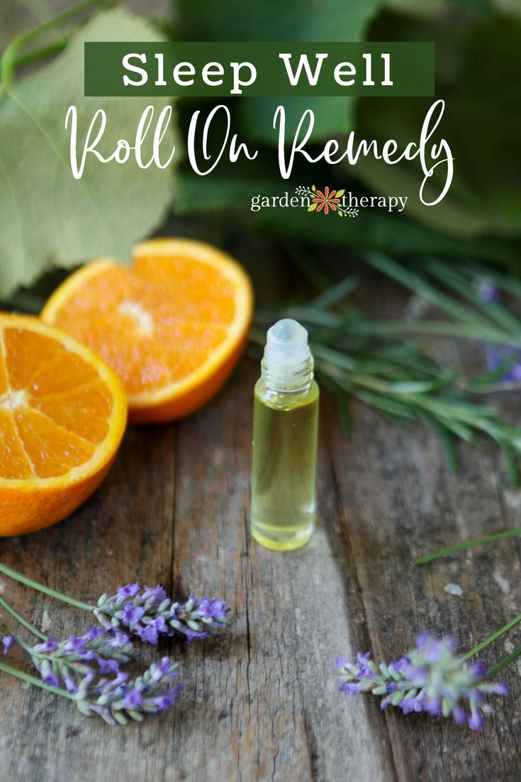 Sleep Roll on remedy - Make roll-on remedies as a quick and natural first line o...