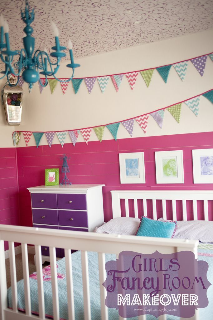 Diy Crafts So Many Fun Ideas And Elements In This Girls Bedroom