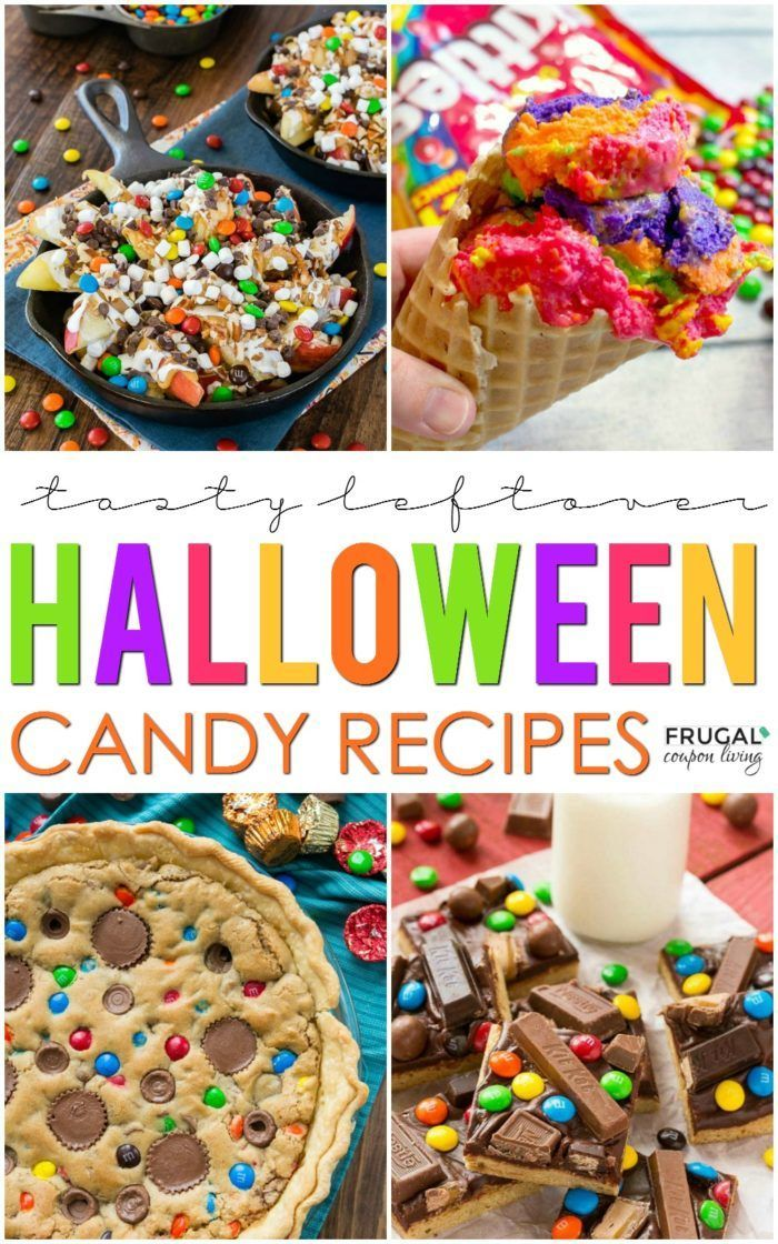 Take a look at these Creative Ways to Reuse Leftover Halloween Candy on Frugal C...