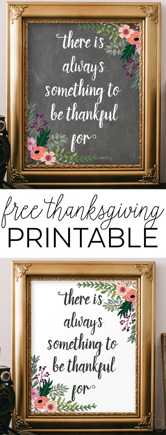 Thanksgiving Decoration : Thanksgiving Quote - There's Always Something to B...