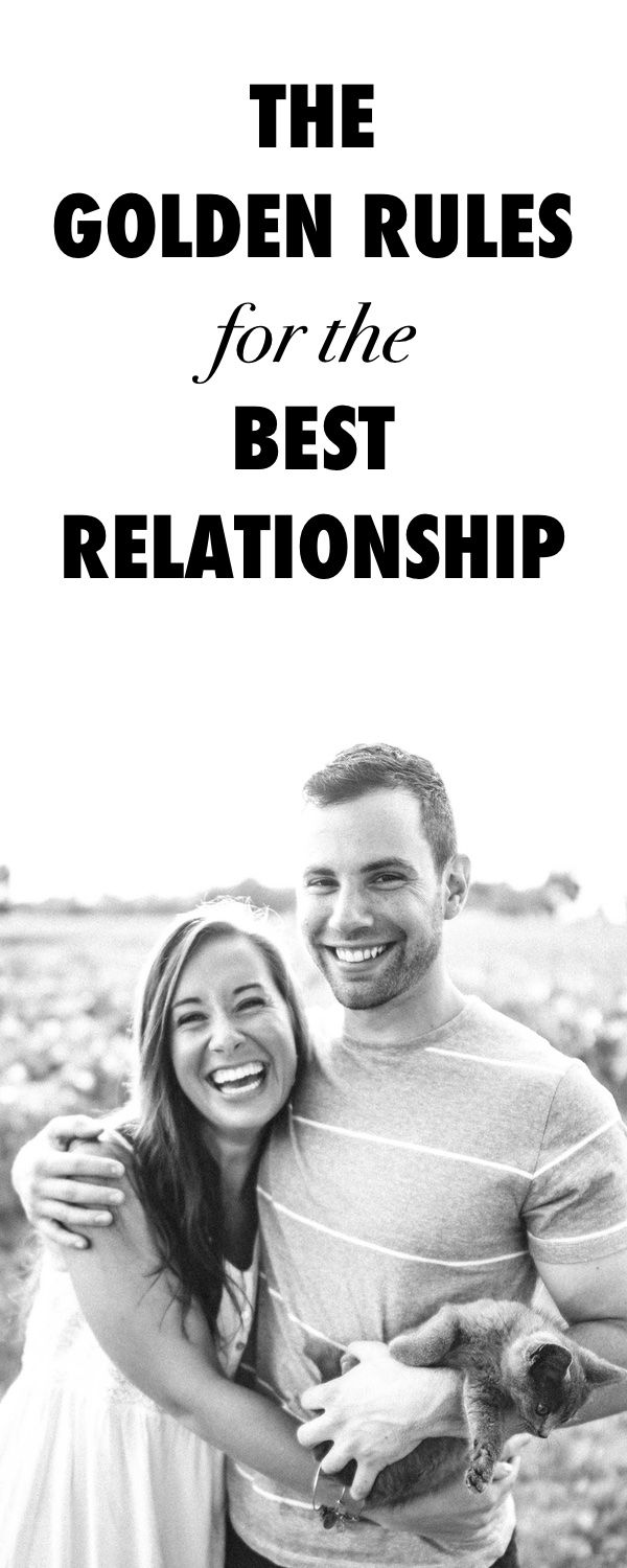 The Golden Rules for an Awesome Relationship