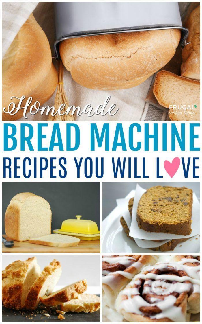 The best Breadmaker Recipes on Frugal Coupon Living. Our round-up of favorite ho...