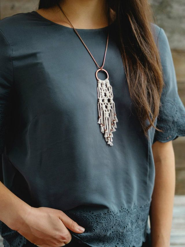The on-trend necklace you can make yourself - GirlsLife