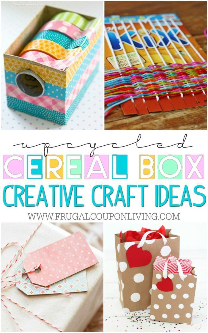 Diy Crafts We Found Some Of The Most Creative Upcycled Cereal Box