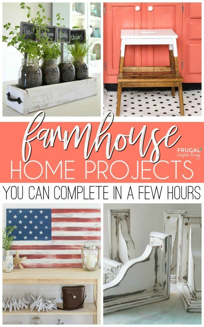 Weekend Diy Farmhouse Projects You Can Complete In A Few Hours Creative Joanna
