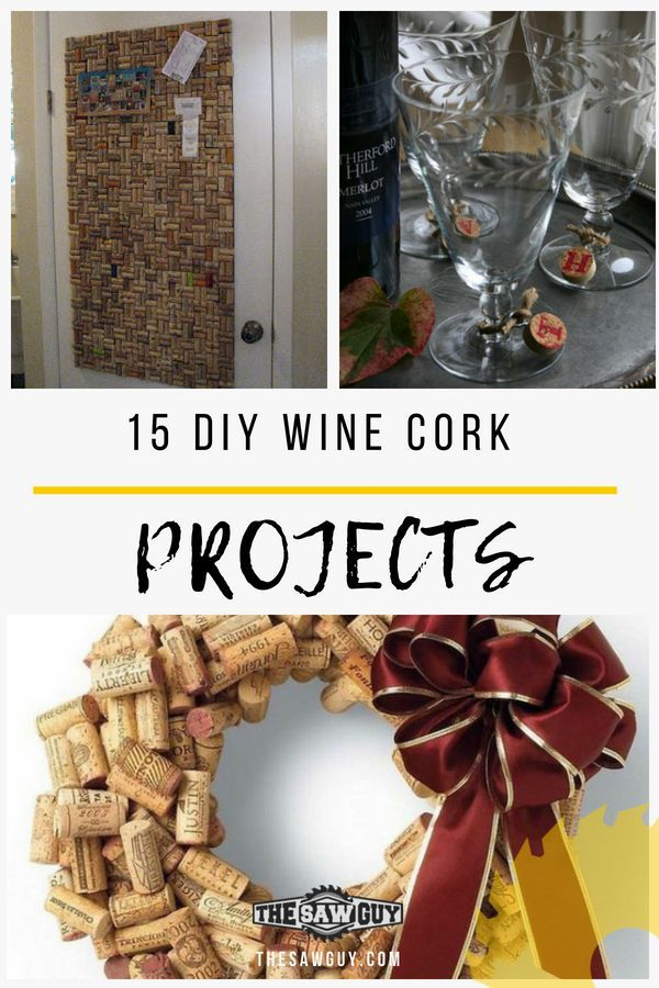 15 DIY Winecork projects for you to create after it has been drunk. From bulleti...