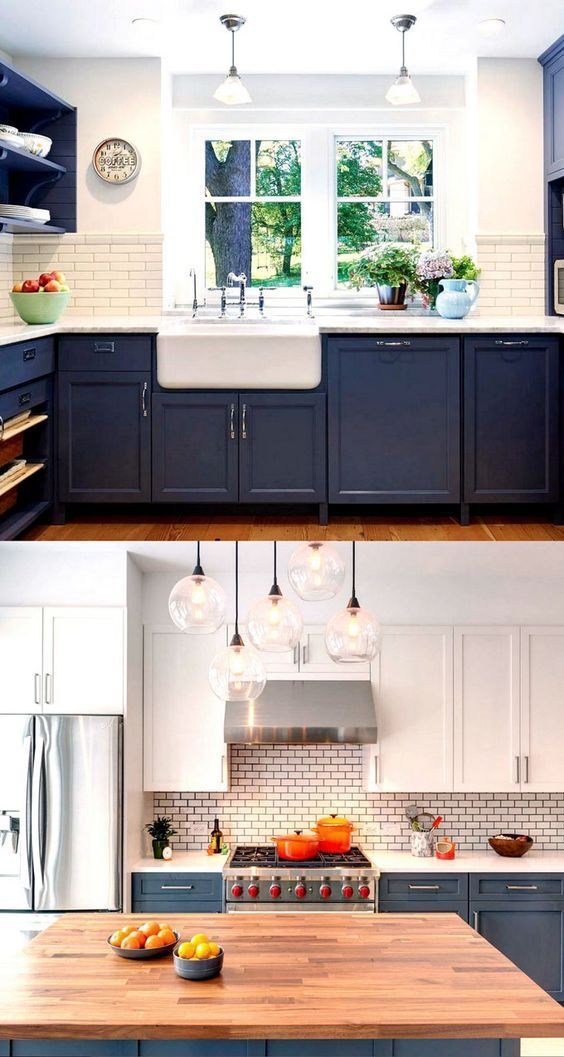 25 most gorgeous paint color palettes for kitchen cabinets and beyond. Easily tr...