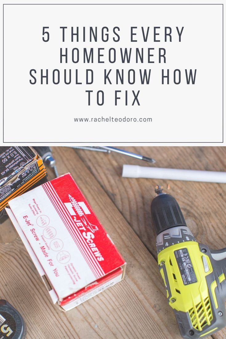 5 Things Every Homeowner Should Know How to Fix