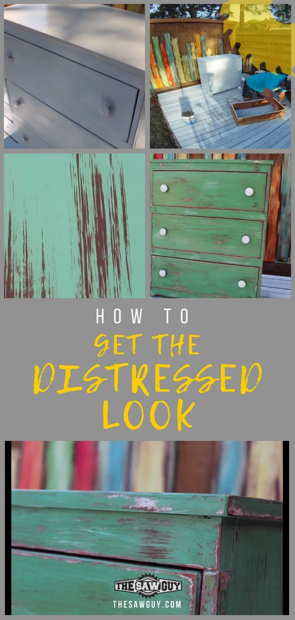 Clueless on how to achieve that weathered look that is so in nowadays?  In just ...