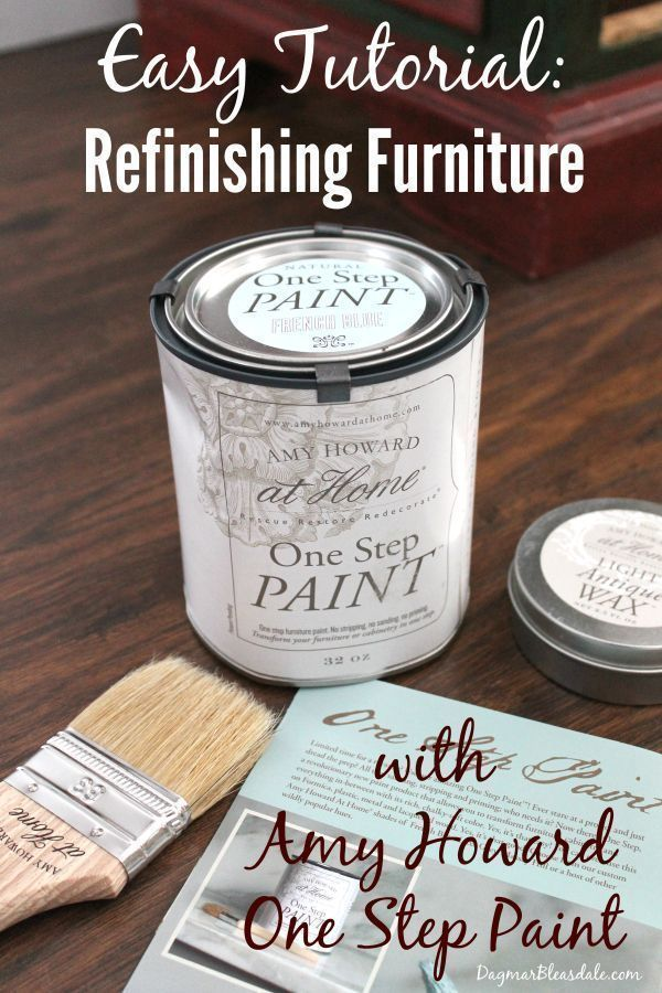 Don't buy new furniture - repaint your old furniture! Tutorial of how I made ove...